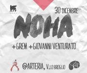 Facebook Cover - NOHA x Planctoon @ Arteria, Bologna