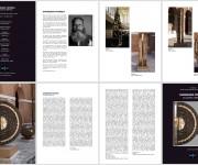 Catalogo e pannelli allestimento mostra Museo delle Ceramiche di Faenza
