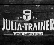 Personal trainer Giulia Fumagalli Logo