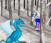 il drago azzurro