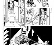 Tavola prova definitiva per la web serie a fumetti