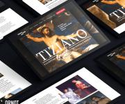 Mostra TIZIANO a Brescia Website