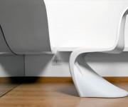 scrivania wave