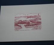 Cartoncino Stazione Marittima - Rilievo Calcografico