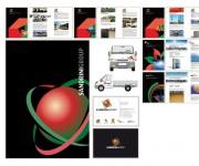 Studio e realizzazione logo, immagine coordinata e brochure