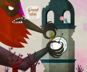 il mostro del terremoto e la torre dell'orologio