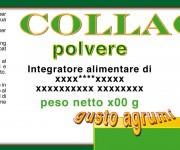 Etihetta prodotto Collagen