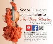 Campagna Pubblicitaria Ars Nova Messina 2014