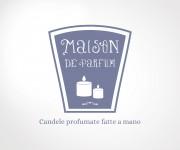 Logo per Maison de Parfum - Candele fatte a mano