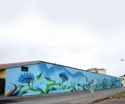 Decorazione parete per Cogeme S.p.a.