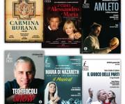 Copertine Libretti Spettacoli Teatro Cilea - RC -