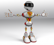 OMPpumps robot advertising catalog