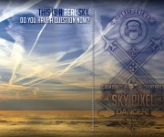 Chemtrails sky pixel!