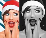#christmaswoman