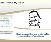 One Minute Site > Portfolio > Sandro Carrus