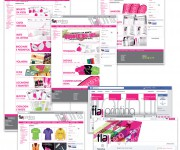 Layout e profili social per www.flaiprinting.com