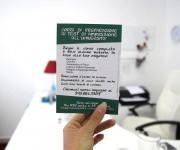 Proxima - Associazione no-profit preparazione test di ingresso universitario - Volantino retro