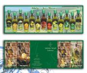 etichette oli aromatizzati