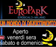 Europark Idroscalo promotion advert