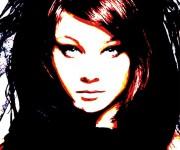 afrodite - acrylic on canvas - cm60x80 - 2010