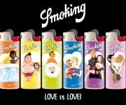 SMOKING love is love