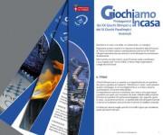 Campagna di comunicazione GIOCHIAMO IN CASA per Provincia di Torino