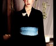 Elisabetta DelMedico, Modella, Kimono,