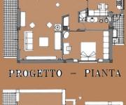 pianta dalle casa a fuorigrotta -Napoli