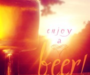 enjoy a beer