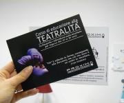 Proxima - Associazione no-profit Corso teatrale - Volantino