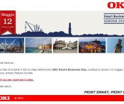 newsletter oki evento genova