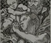 Sacra Famiglia di Michelangelo