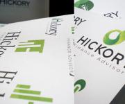 HICKORY- proposte di logo per l'azienda di finance advisor HICKORY