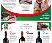 Folder Remo Gastronomia