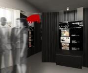 exhibit design - allestimento mostra satira 4