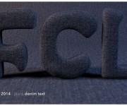 Progetto Font: FCL Denim Jeans