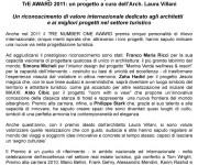 TRE-AWARD-2011-1