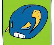 Toro blu