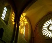 abbey interior Fossanova