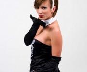 Iryna Horyeva, fotomodella,