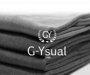 Logo per G-Ysual. Negozio abbigliamento