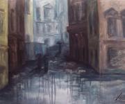 Brno in pioggia