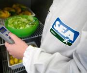 Applicazione di logo su divise aziendali - Sea Group