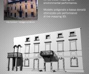 Villa Zamboni 3D model for live mapping