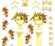 Coppa e bassorrilievi - per Kalit