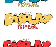 Logo Riccione Cosplay Festival (scartato)