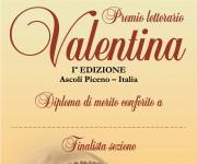 Premio letterario Valentina