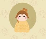 Belle, principessa Disney del film