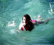 Donna libera sempre avrai caro il mare