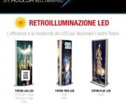 Nuovi Totem LED